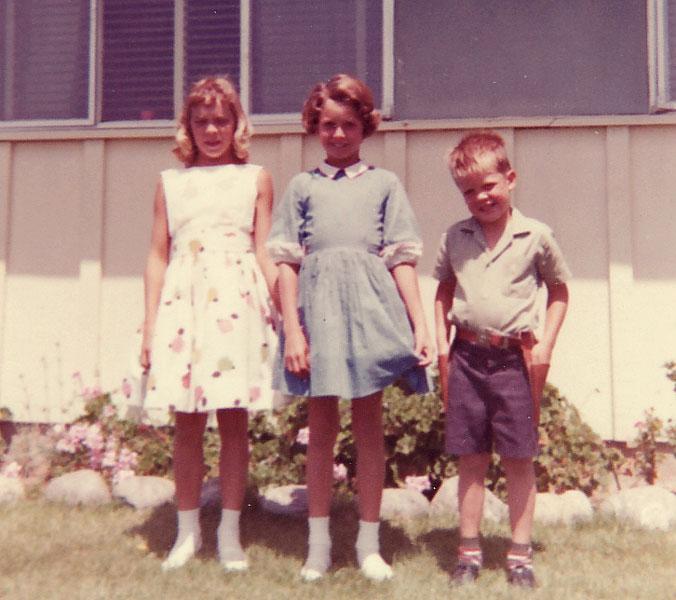 Kingry Family 1965 Annette Brenda Bob Calif